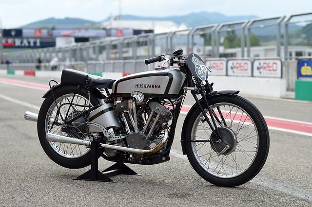 Husqvarna TT Racer 1935 V-Twin 500cc OHV