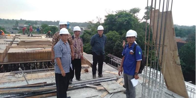 Kunjungan Pembangunan Gedung Sekolah Baru