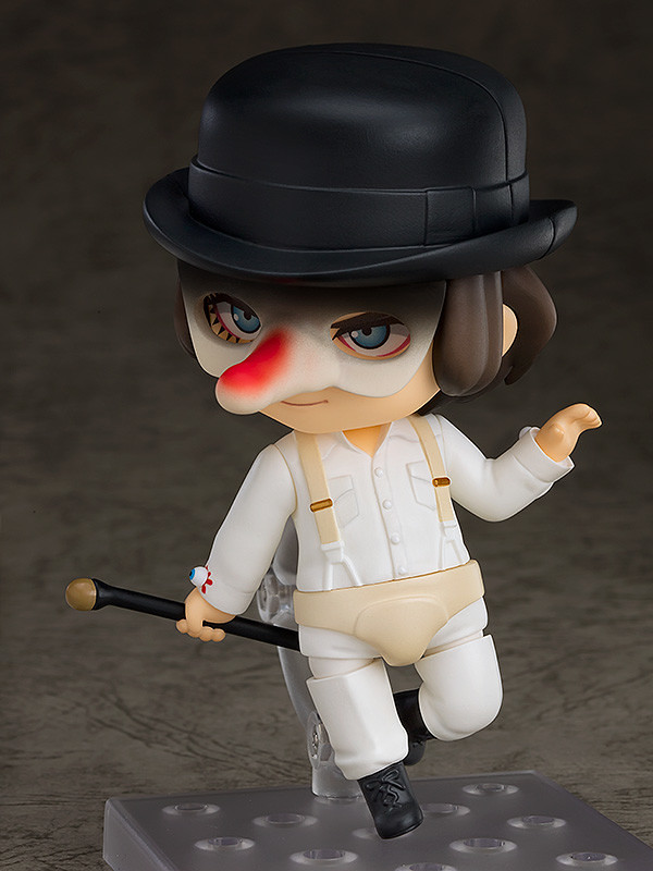 「Well, well, well, my little Droogies.」黏土人《發條橘子》亞歷克斯 ねんどろいど アレックス 叛逆現身