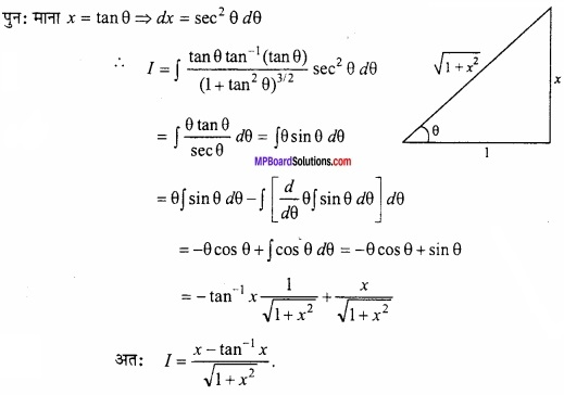 MP Board Class 12th Maths Important Questions Chapter 7 समाकलन img 43