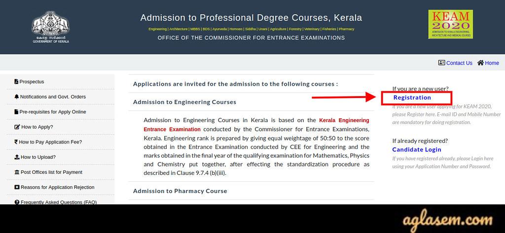 KEAM 2020 Application Form