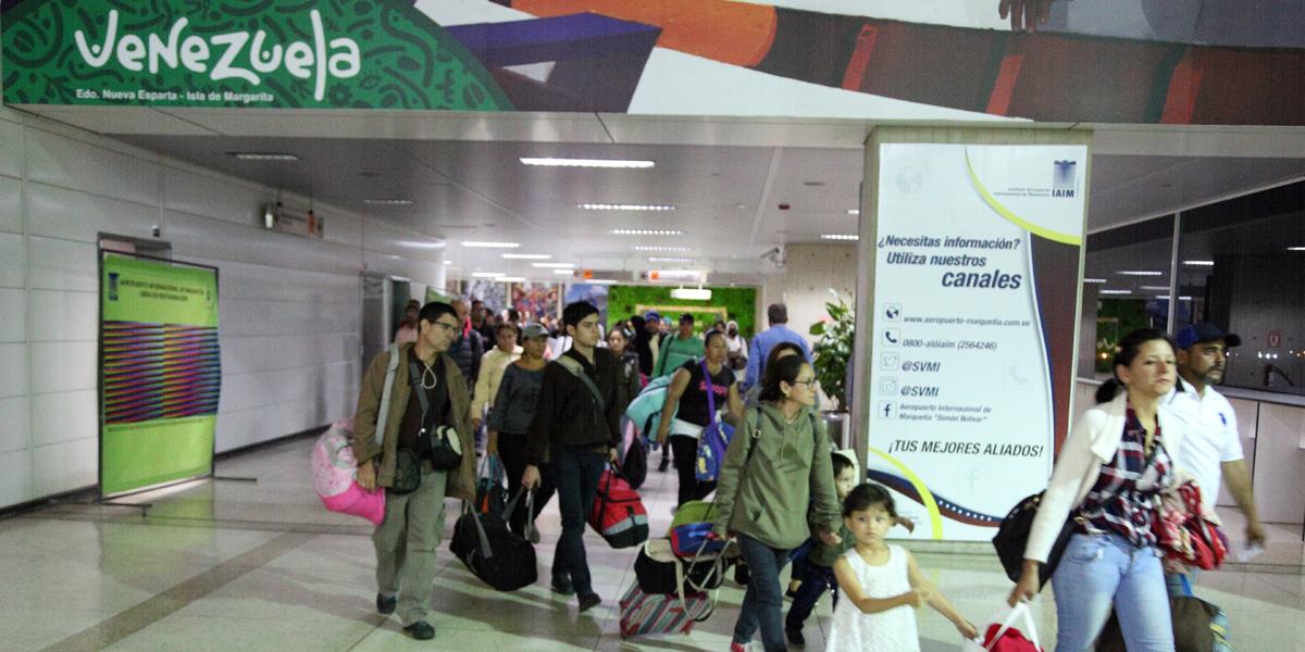 Llegan a Venezuela otras 250 personas repatriadas desde Chile con el Plan Vuelta a la Patria