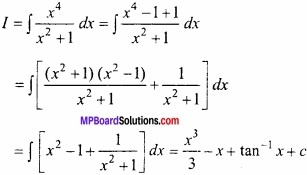 MP Board Class 12th Maths Important Questions Chapter 7 समाकलन img 19