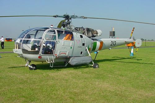Sud Aviation Alouette III SA.316B 213 EGXJ 26072001 2