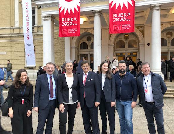 Tagung der Kulturministerinnen und Kulturminister Südosteuropas und Eröffnung der Europäischen Kulturhauptstadt Rijeka 2020