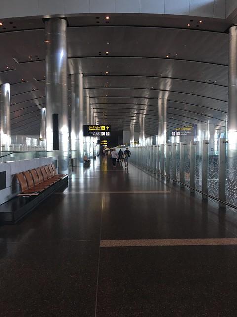 Doha airport.
