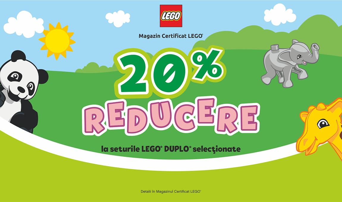 20% reducere la o selectie de seturi LEGO® DUPLO