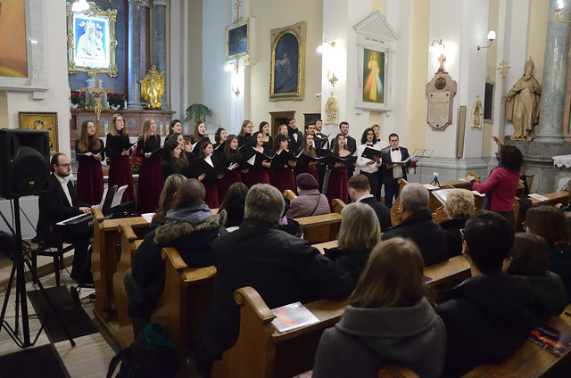 """""""Rejoice and be glad"""" - Christmas Carols Concert by the Natolin Choir and the """"Kameleon"""" Choir in Warsaw. 26.01.2020"""
