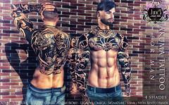 Akuma tattoo for man