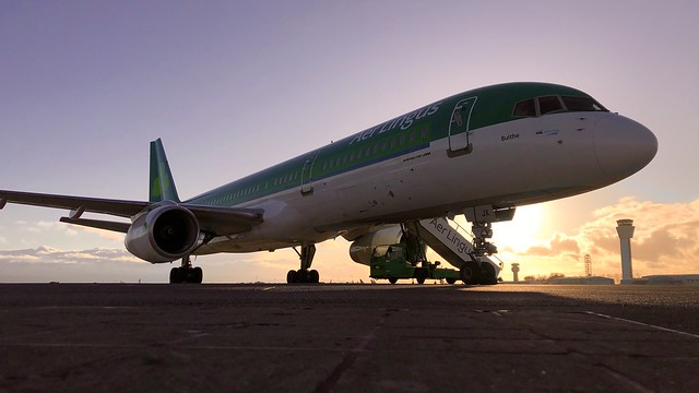 EI-CJX the last EI B757 due to go in May !!