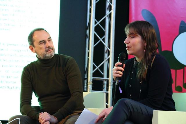 Laurent Le Meur (EDRLab) et Ludivine Gouhier (H2T) - FIBD 2020