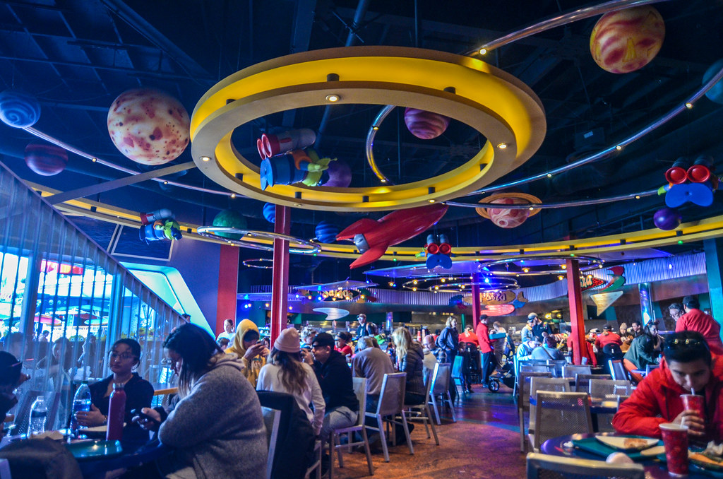 Pizza Planet ceiling DL