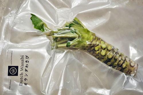 Verse Wasabi wortel uit Nederland