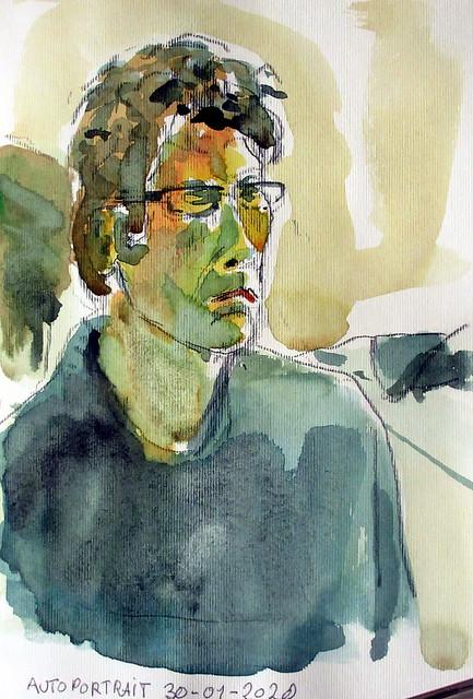 autoportrait 30-01-2020
