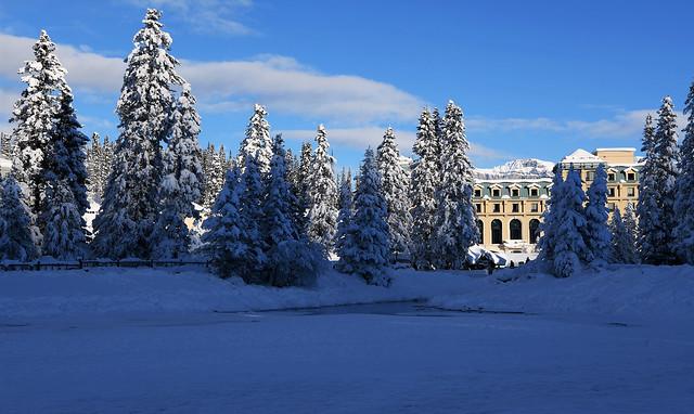 Winter Chateau