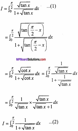 MP Board Class 12th Maths Important Questions Chapter 7B निशिचत समाकलन img 19