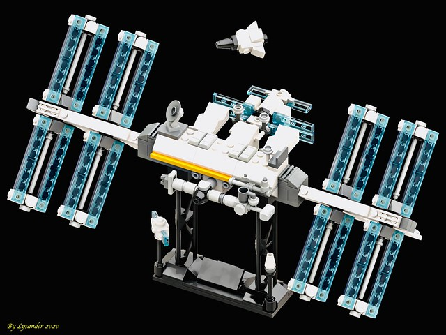 LEGO mini Space Station