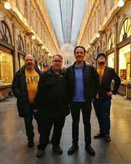 Mina sköna kollegor, och tillika reskamrater på helgens FOSDEM-tripp, poserandes i kungliga gallerier. Tack till Jonas som ledde oss dit!