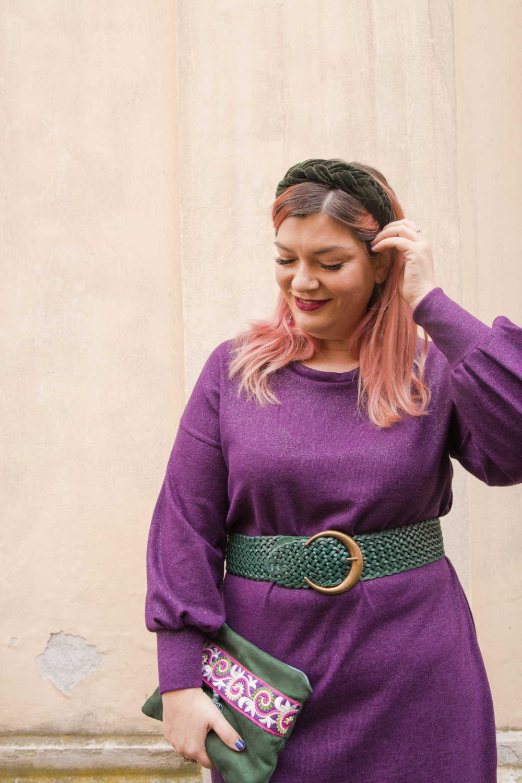 Outfit curvy plus size cucito, realizzazione di un progetto (8)