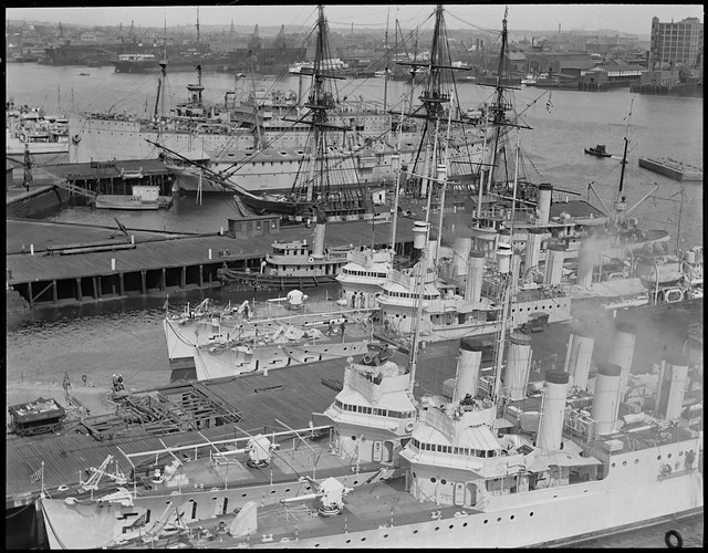 Destroyers at Charlestown