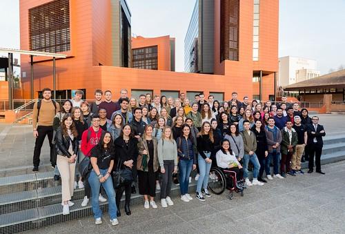 03/02/2020 - Deusto recibe a los cerca de 400 alumnos internacionales que estudiarán en Bilbao y San Sebastián durante el segundo semestre