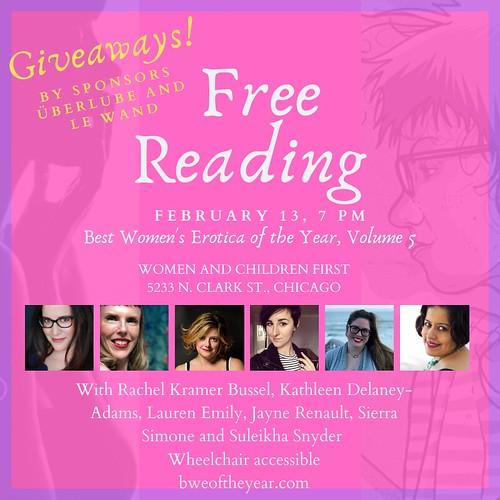 chicago-best-womens-erotica-pre-valentines-day-2020-reading-rachel-kramer-bussel-sierra-simone