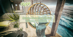 crate's Bahia Hanging Chair for Anthem!