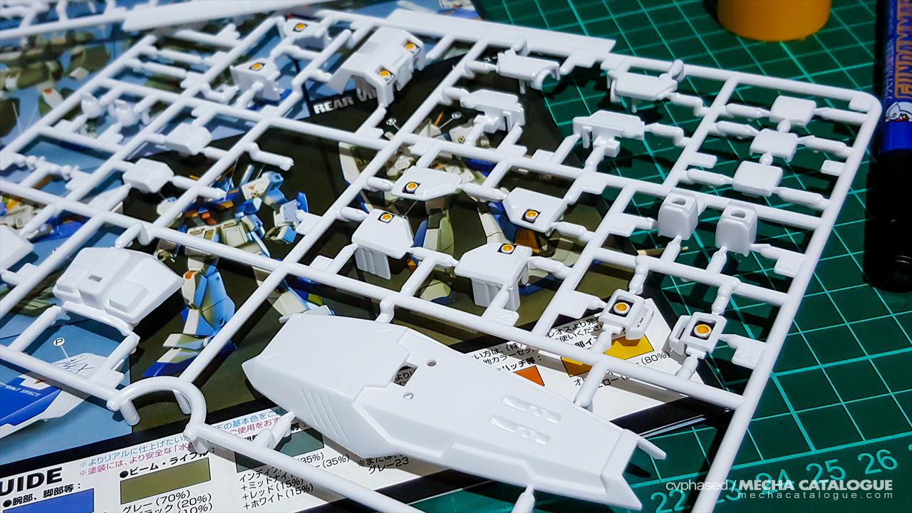 All That Prep Work! Work-in-Progress #1: HGUC Gundam NT-1