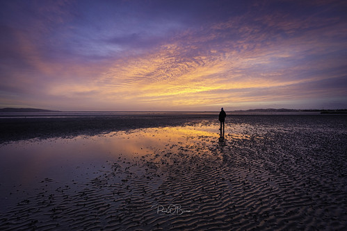 sunrise dawn sandymount offshoot paulobrien colour beach water sand
