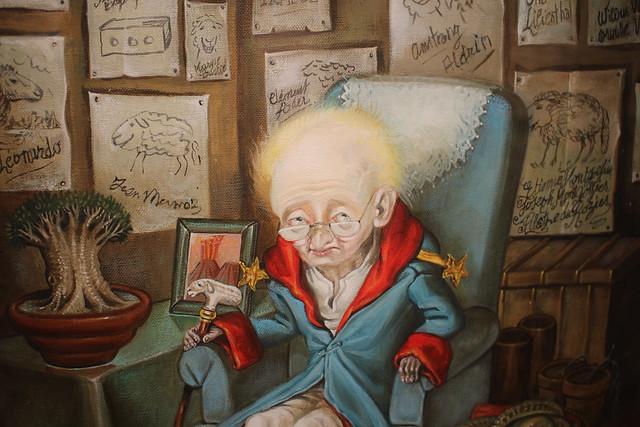 Le Petit Prince octogénaire - Nicole Claveloux