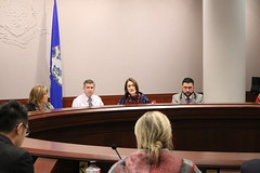 Rep. Cheeseman participated in a Suicide Prevention Policy Summit at the legislative office building. According to the Connecticut Violent Death Reporting System, suicide is the leading cause of injury death in our state, with 1,170 individuals committing suicide between 2015 and 2017.