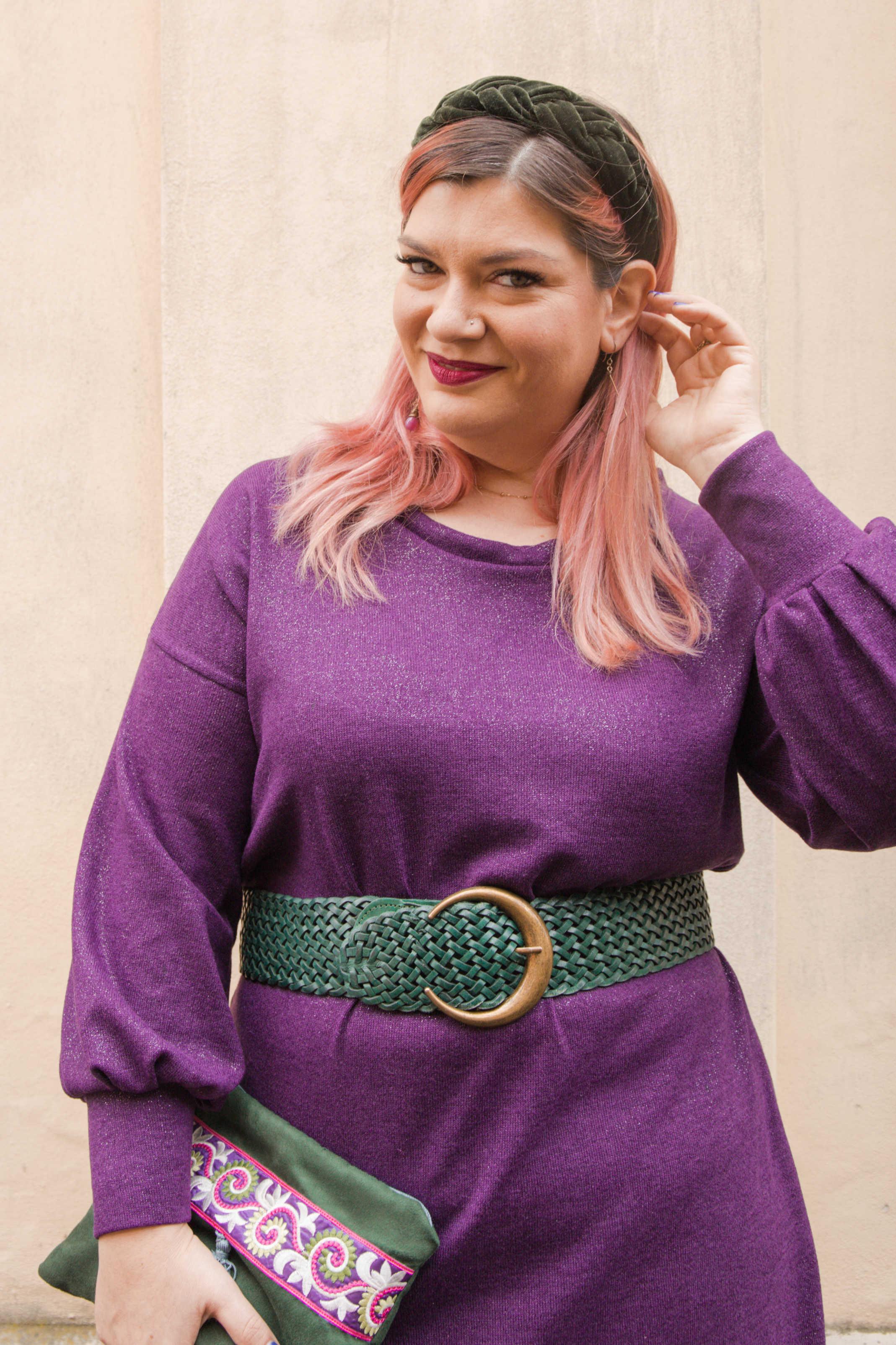 Outfit curvy plus size cucito, realizzazione di un progetto (7)