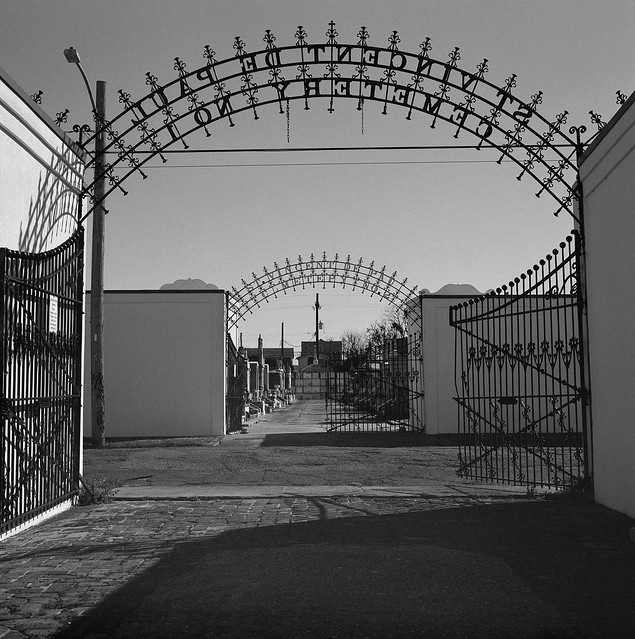 Cemetery Gates, New Orleans
