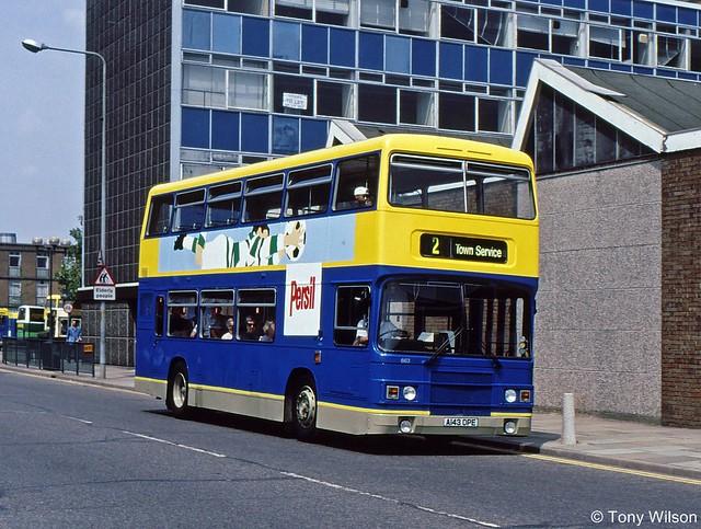 A143DPE Luton&District L&D 663