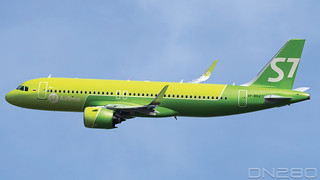 S7 Airlines A320-271N msn 9511
