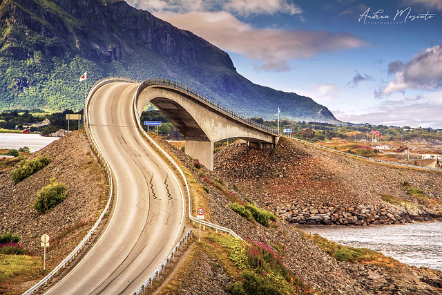 Storseisundet Bridge - Atlantic Ocean Road (Norway)