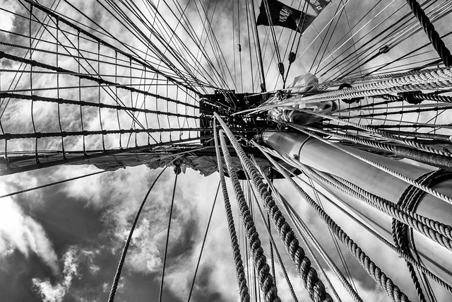 Rigging and Masts 2016 C B&W