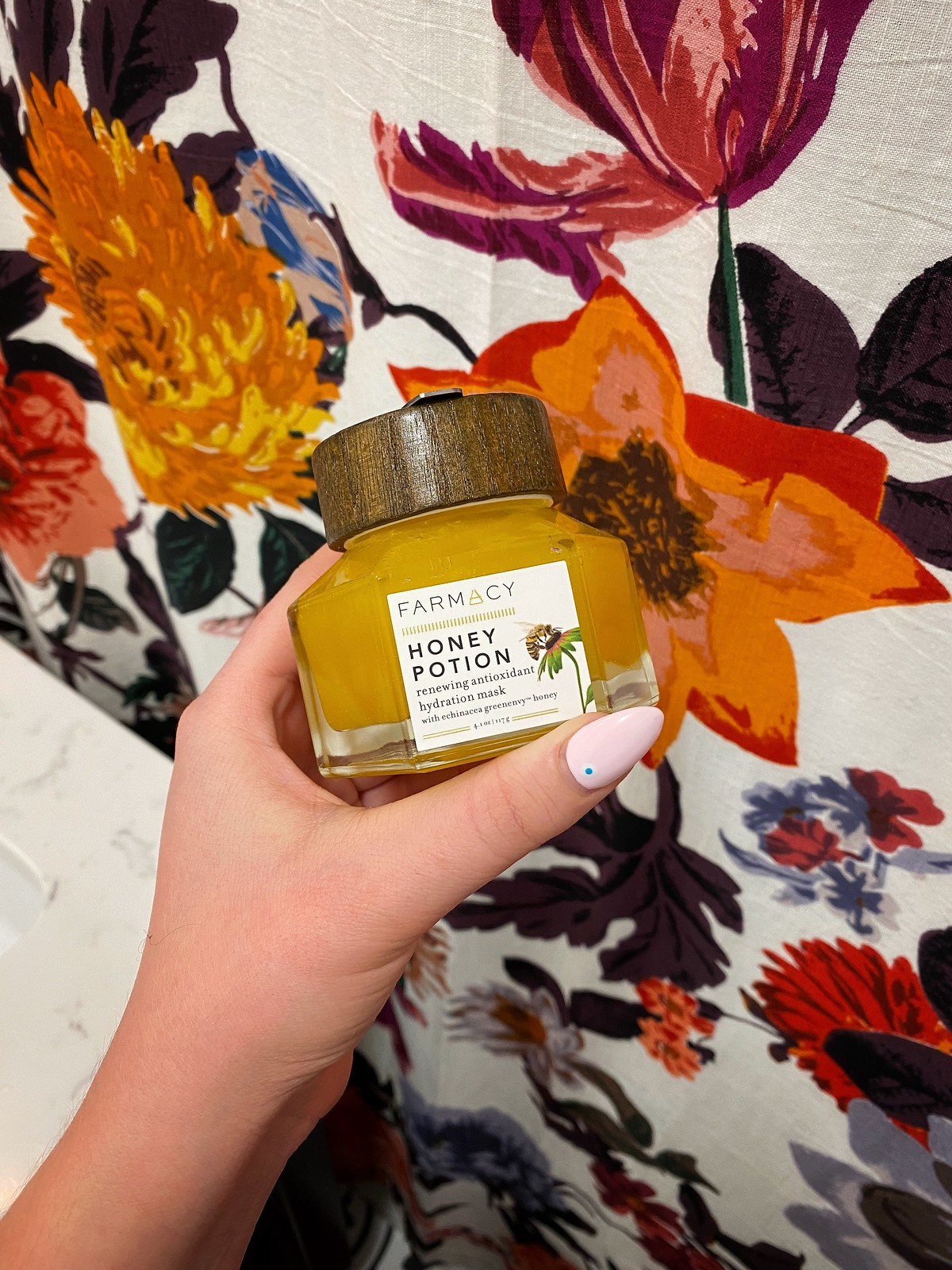 farmacy Honey Potion Renewing Antioxidant Hydration Mask Clean Beauty