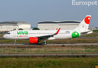 F-WWIU Airbus A320 Neo Viva Aerobus