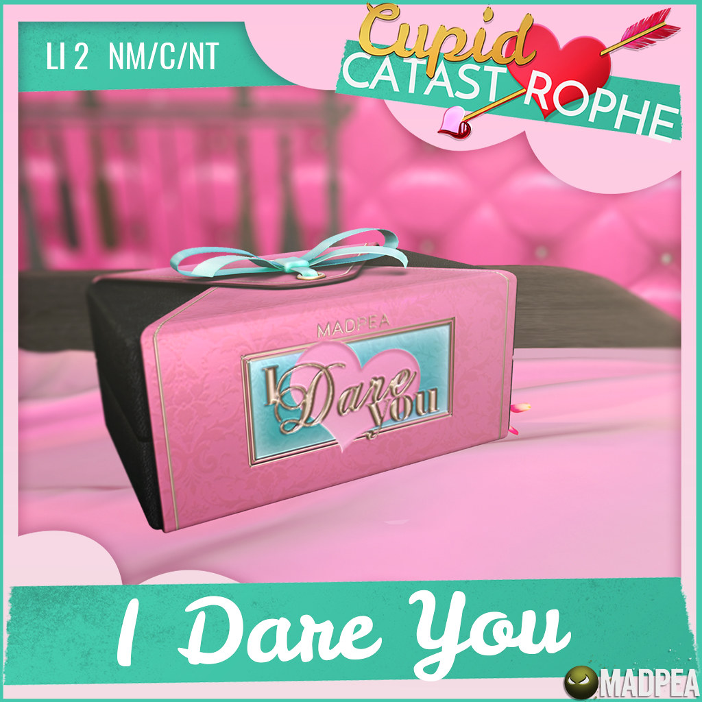 MadPea's Cupid Catastrophe Prize Unlock: MadPea's 'I Dare You' Intimate Couples Game!