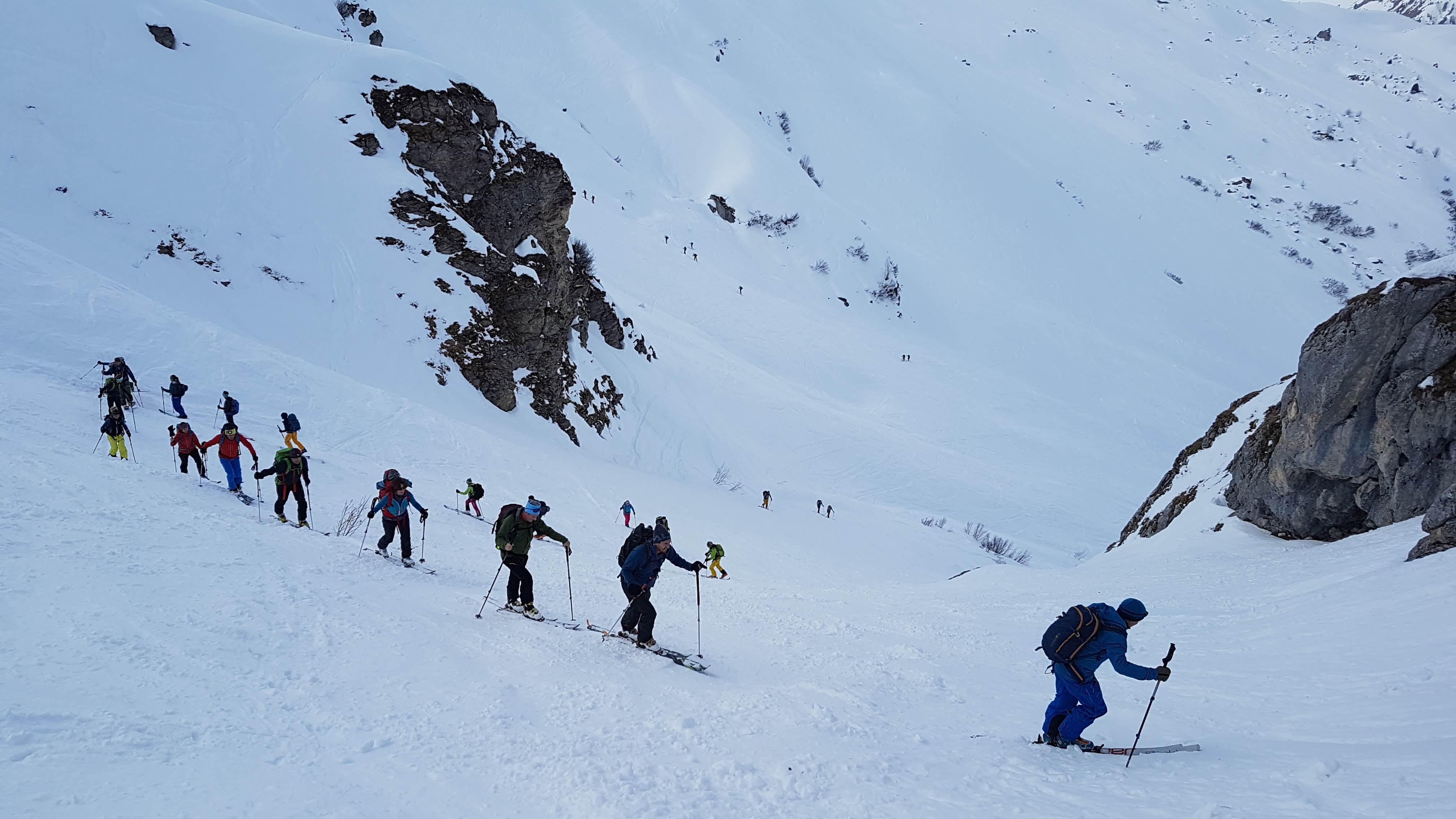 Skitour Schijenflue 2625m.ü.M
