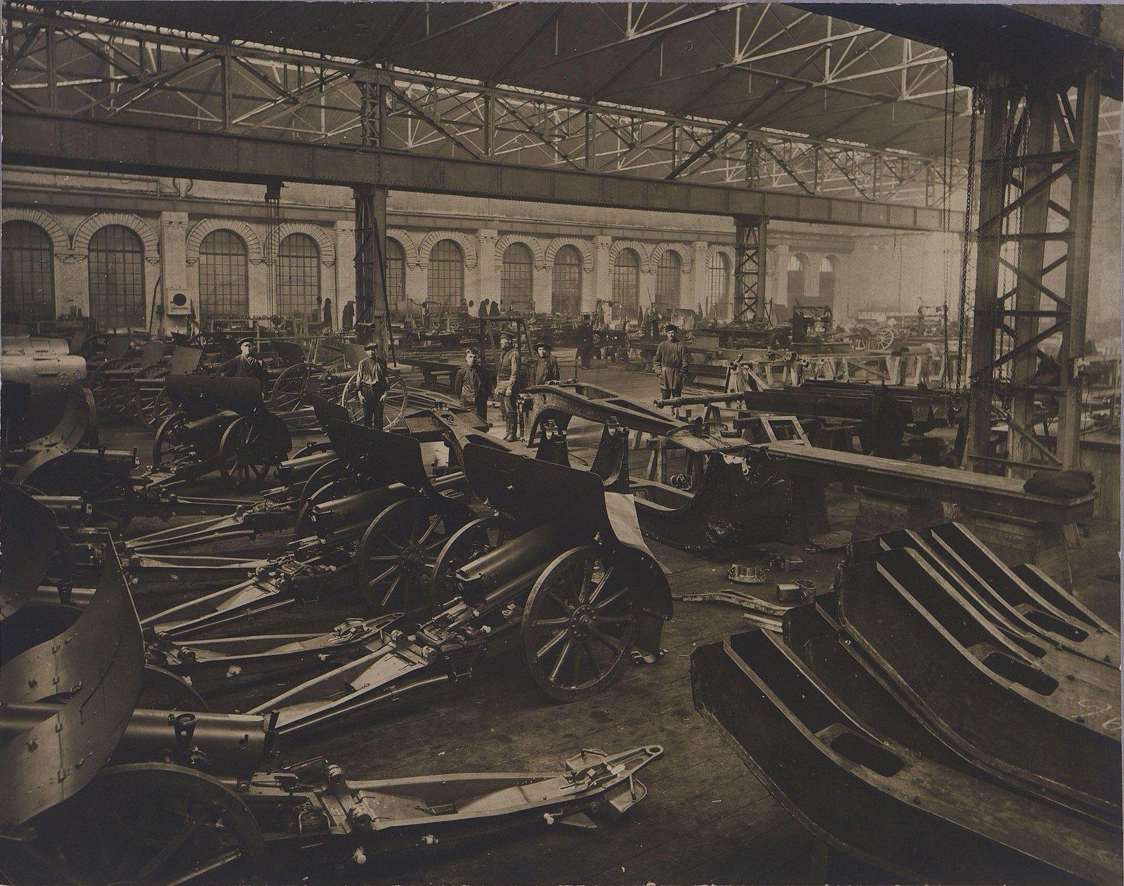Лафетосборочная мастерская