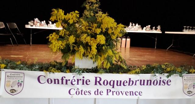 20200126_Confrérie Roquebrunoise Côtes de Provence