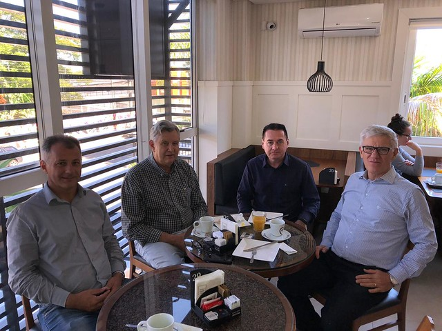 01/02/2020 Café com lideranças de Bento Gonçalves - Cafeteria Dolce Gusto