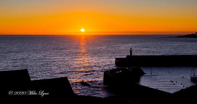 Sunrise at Mevagissey