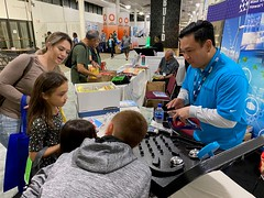 Hawaiian Electric at the 2020 Home Building and Remodeling Show — Jan. 25 - 26, 2020: There was fun for everyone in the family — even the keiki had a chance to learn about renewable energy!