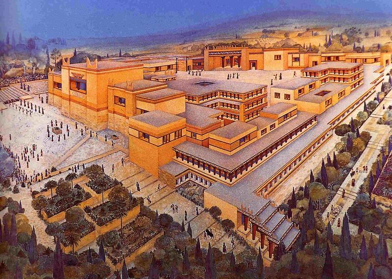 Knossos reconstrucción