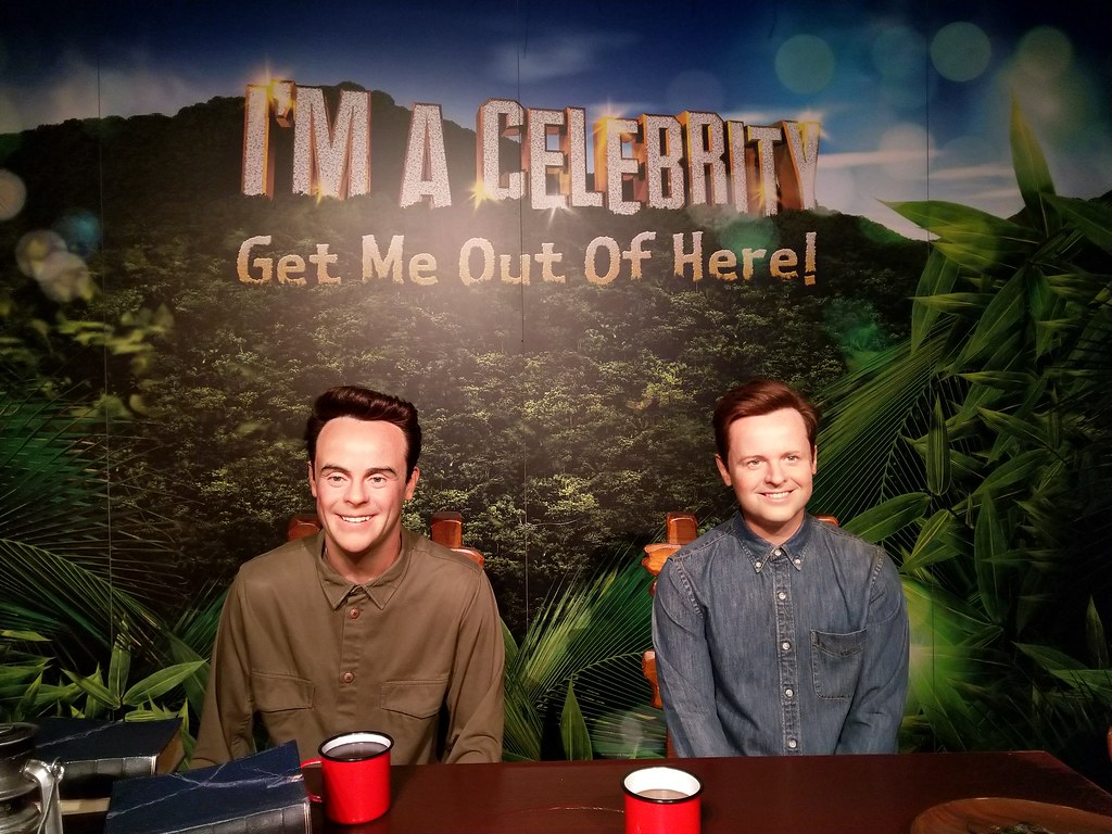 Ant & Dec the presenters of I'm a Celebrity, Get Me Out Of Here Madame Tussaud's Blackpool