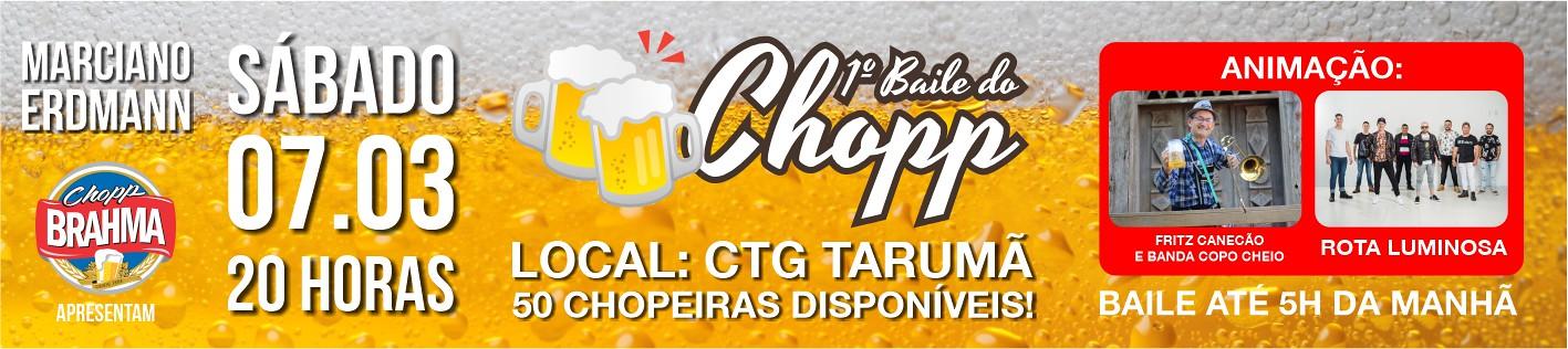 07-03-2020 1º Baile do Chopp em São Gabriel