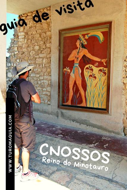 Cnossos: guia de visita - Creta